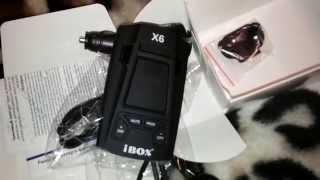 радар детектор iBOX Evolution X6