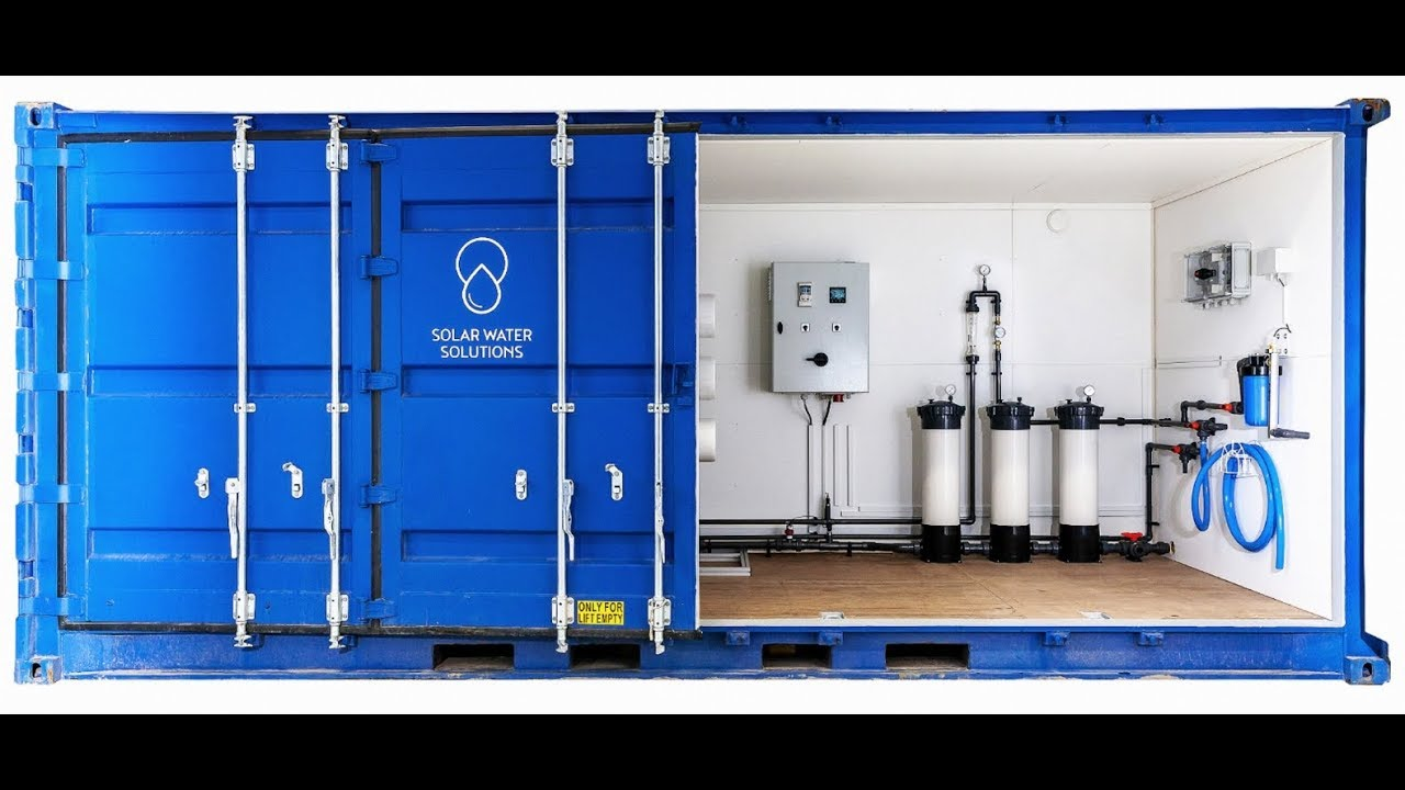 Revolutionary Desalination with Zero Energy Costs | Seawater into Drinking  Water Using 100% Solar
