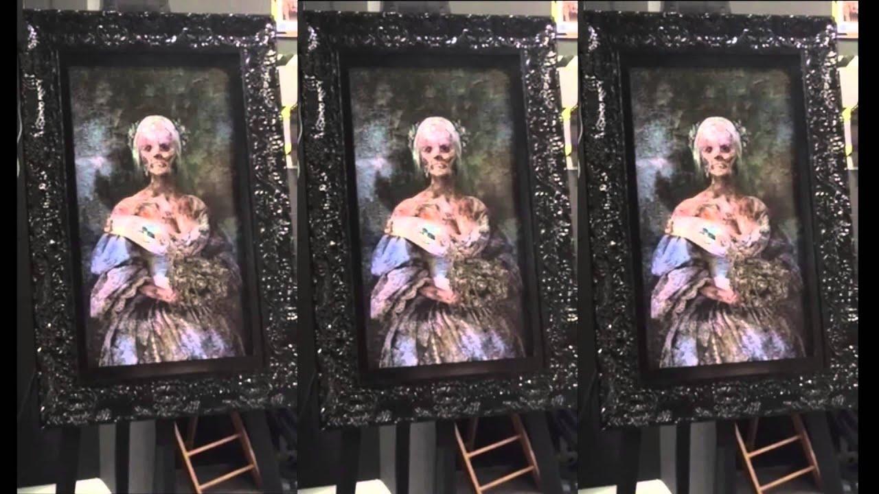 Tableau de peinture anim youtube for Chambre qui fait peur