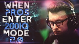 DOTA 2 - WHEN PROS ENTER 200 IQ MODE! (Smartest Plays & Next Level Moves By Pros) 2.0