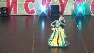 Маленькая восточная принцесса ! Ориенталь . Танец живота. Дети.