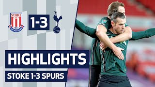 HIGHLIGHTS | STOKE CITY 1- 3 SPURS | Bale, Davies and Kane send Spurs to the semis!