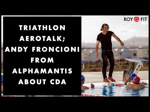 Triathlon Aerotalk; Andy Froncioni from Alphamantis about CdA (English)