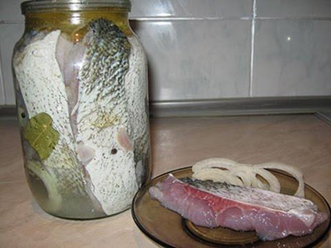Домашняя селедка из толстолоба