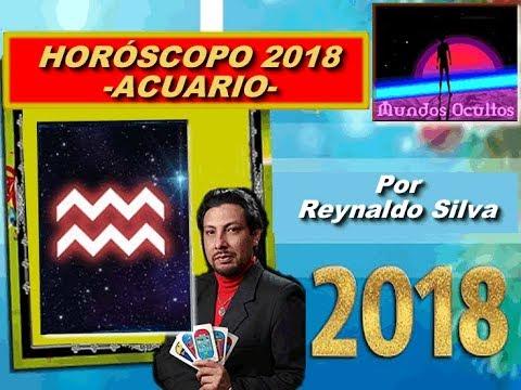 Horóscopo 2018 para el signo de acuario, por Reynaldo Silva