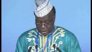 Allocution de M. Bambara Aliyou