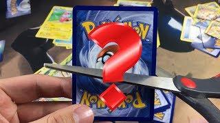 OMG WHAT DID I CUT! - POKEMON FLIP IT OR RIP IT PACK BATTLE!