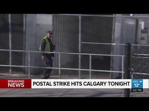 WATCH: Postal strike hits Calgary
