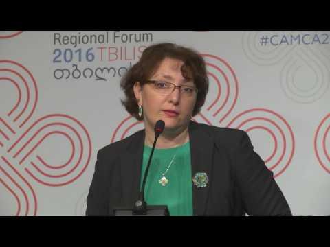 2016 CAMCA Regional Forum: Keynote Address by Ms. Tinatin Khidasheli, Minister of Defense of Georgia