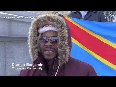 """Je Suis Congo Rally"" in Response to Protestor Killings in the DR Congo - Edmonton"