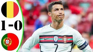 Бельгия 1 0 Португалия Роналду с командой покидают турнир Португалия вылетела с чемпионата Европы