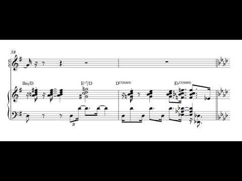 Bill Evans/Tony Bennett - But Beautiful (Complete Transcription)