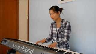 Hold Me Jesus (Rich Mullins) piano cover by Florence Lang
