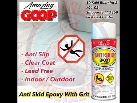 Amazing GOOP Anti Skid Epoxy with Grit
