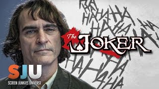 First Joaquin Phoenix Joker Pics Hit! - SJU
