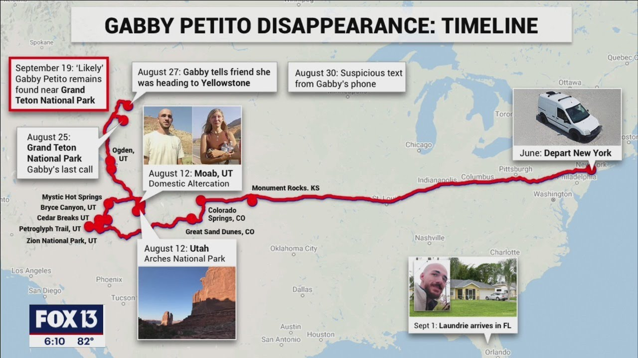 Download How the new 911 calls fit into the Gabby Petito timeline