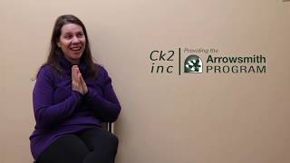 Ck2 Inc. Arrowsmith -- one of the top Arrowsmith students in the world!