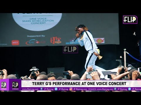 TERRY G'S PERFORMANCE AT ONE VOICE CONCERT