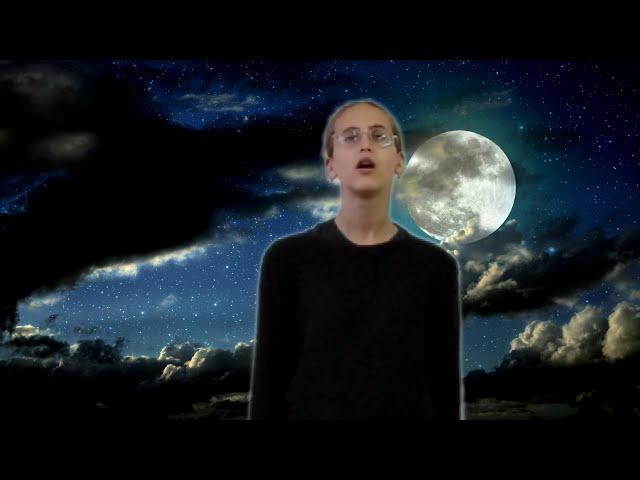 Изображение предпросмотра прочтения – ГлорияБаранова читает произведение «Золото холодное луны...» С.А.Есенина