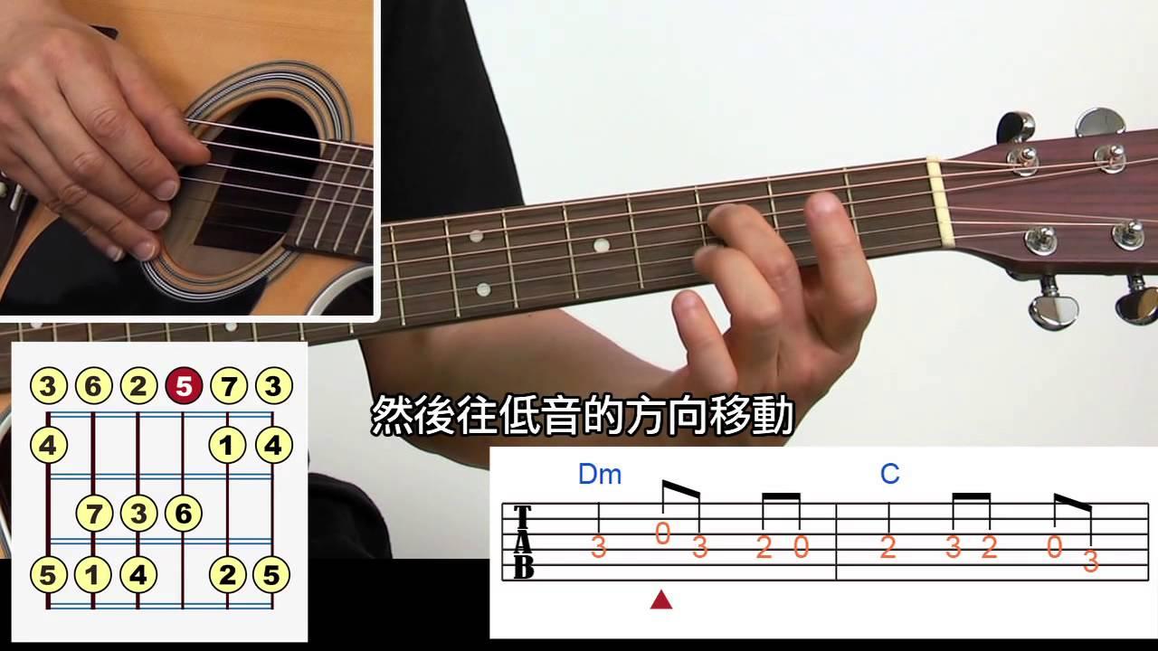 吉他入門免費教學6:旋律練習 巴哈小步舞曲 - YouTube