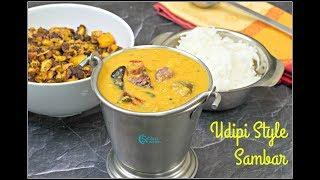 Udupi Sambar  Udipi Style Sambar Recipe