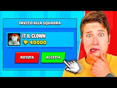 RICEVO L'INVITO DA *IT IL CLOWN* SU BRAWL STARS!!😱