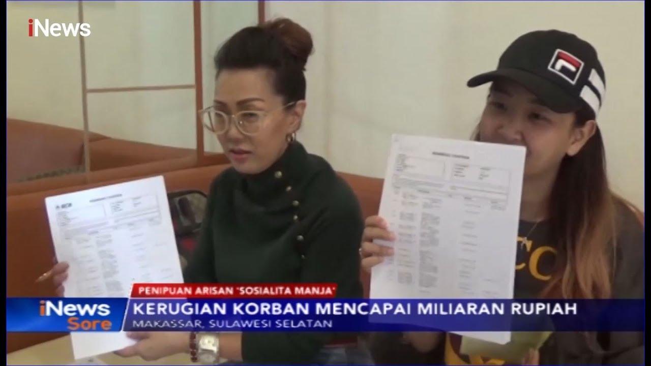 Korban Arisan Online Sosialita Manja Di Makassar Minta Polisi