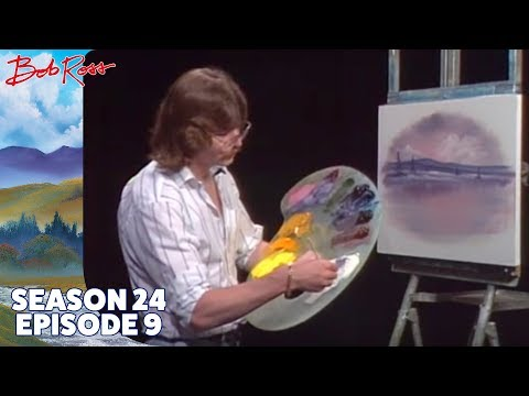 Bob Ross - Icy Lake (Season 24 Episode 9)