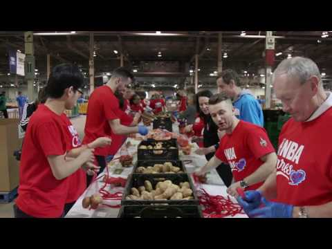 NBA All Star Day Of Service JJ Redick