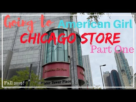 Going To American Girl Chicago Store Vlog-Part One! (Fall 2019!)