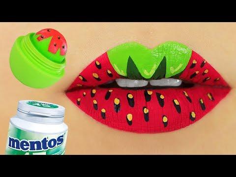 8 DIY Lippenbalsam, Peeling und Lipgloss Rezepte