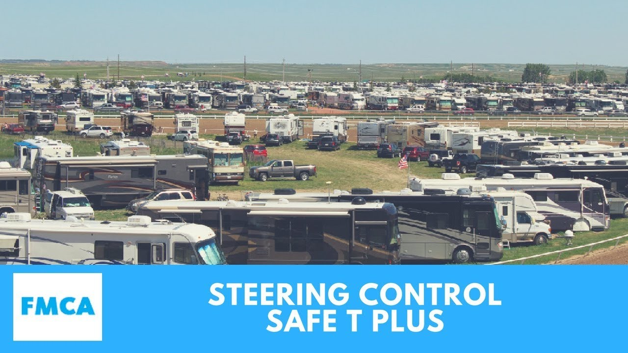 Safe T Plus Steering Control - A Better Motorhome Driving Experience