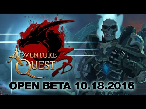 AdventureQuest 3D OPEN BETA 10.18.2016