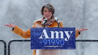 Amy Klobucher joins list of Democrat presidential candidates