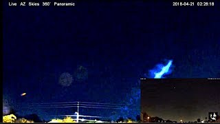 MULTIPLE ELECTRIC BLUE BEAMS SHOOTING OVER PHOENIX, AZ!!!  April 21, 2017 - Stafaband