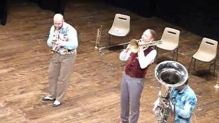 trio, trumpet trombone tuba - Mnozil Brass - Faith