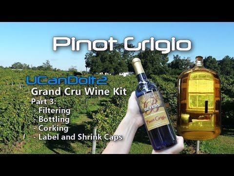 Pinot Grigio Part 3 | Filtering, Bottling, Labeling