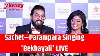 Kabir Singh | Bekhayali Song Singing LIVE By Sachet–Parampara | Stars Screen Awards 2019