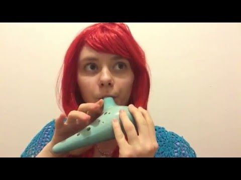 The Little Mermaid - Part Of Your World Ocarina Cover + Sheet Music
