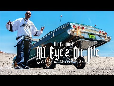 Mr.Capone-E- All Eyez On Me Feat. Magic Girl  (Official Music Video)