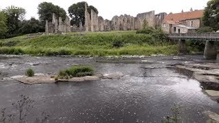 Finchale  Priory Culture and Holidays Durham England