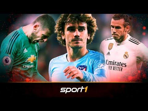 De Gea, Griezmann, Bale: Das könnten die heißesten Sommer-Deals werden | SPORT1 - TRANSFERMARKT-SHOW