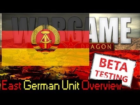 East German Units Overview - Red Dragon Preview