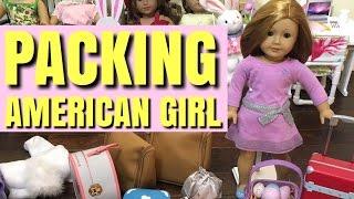 Packing American Girl Doll for Spring Break