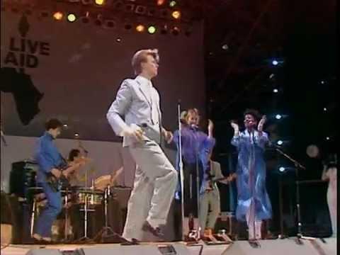 Resultado de imagen de Live Aid / David Bowie (1985)