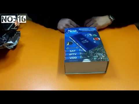 IPTV Kutu Açılımı Ve Kurulumu - Next 2000