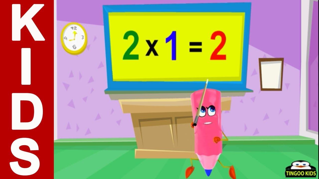 Homeschool Preschool | 2 Times Table Song | Online Math Education ...