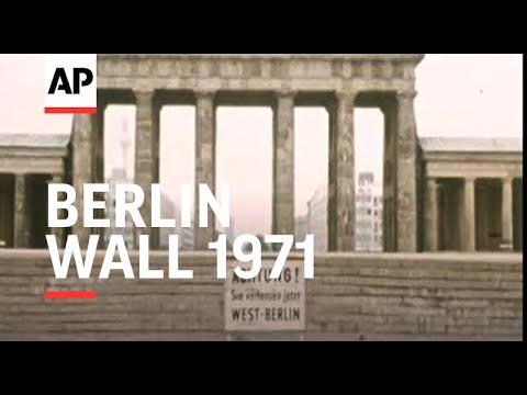 Ten Years of The Berlin Wall - 1971