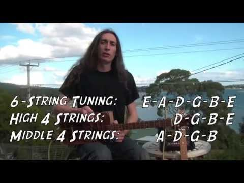 4-STRING TUNINGS FOR CIGAR BOX GUITAR with Justin Johnson