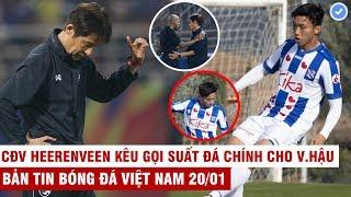 VN Sports 20/1 | CĐV Hà Lan chỉ trích HLV kêu gọi suất đá chính cho Hậu, Thái Lan kiện trọng tài VAR